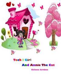 Tech I Girl and Annie the Cat