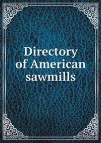 Directory of American Sawmills