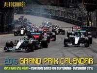 Autocourse Grand Prix 2016 Calendar