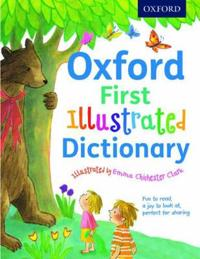 Oxford first illustrated dictionary - beautifully illustrated first diction