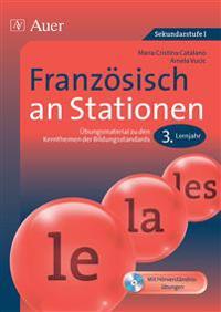 Französisch an Stationen 3. Lernjahr