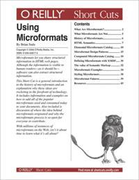 Using Microformats