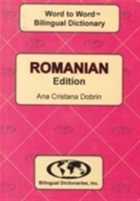 English-RomanianRomanian-English Word-to-Word Dictionary