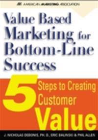 Value-Based Marketing for Bottom-Line success