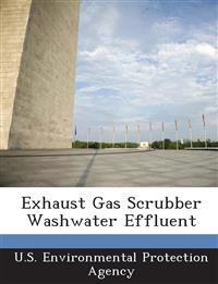 Exhaust Gas Scrubber Washwater Effluent