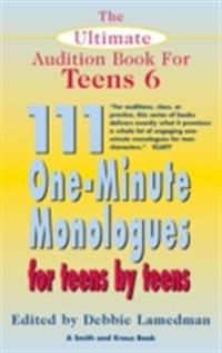 Ultimate Audition Book for Teens Volume 6