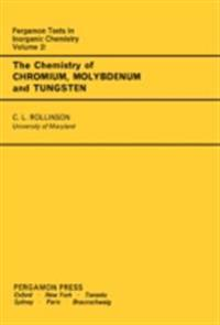 Chemistry of Chromium, Molybdenum and Tungsten