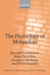 Phonology of Mongolian