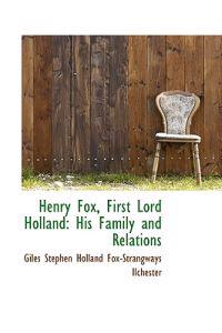 Henry Fox, First Lord Holland
