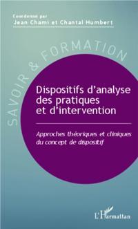 Dispositifs d'analyse des pratiques et d'intervention