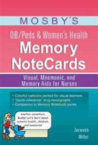 Mosby's OB/Peds & Women's Health Memory NoteCards