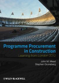 Programme Procurement in Construction