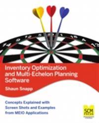 Inventory Optimization and MultiEchelon Planning Software
