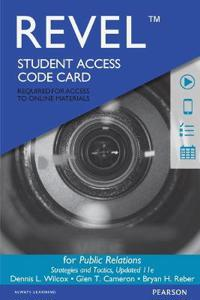 Revel for Public Relations: Strategies and Tactics -- Access Card