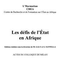 Defis de l'etat en afrique