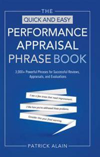 Quick and Easy Performance Appraisal Phrase Book