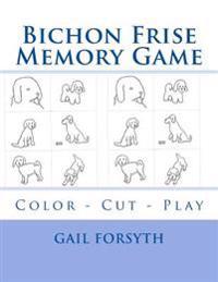 Bichon Frise Memory Game: Color - Cut - Play
