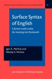 Surface Syntax of English