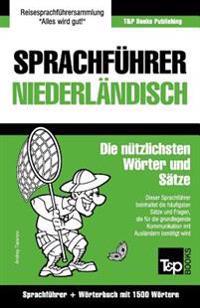 Sprachfuhrer Deutsch-Niederlandisch Und Kompaktworterbuch Mit 1500 Wortern