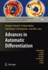 Advances in Automatic Differentiation