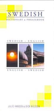 Swedish-English/English-Swedish Dictionary & Phrasebook