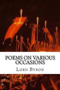 Poems on Various Occasions