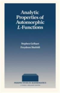 Analytic Properties of Automorphic L-Functions