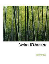 Comit S D'Admission