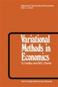 Variational Methods in Economics