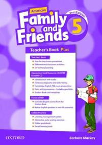 American Family and Friends: Level Five: Teacher's Book Plus