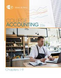 College Accounting, Chapters 1-9
