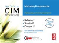 CIM Revision Cards Marketing Fundamentals