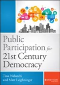 Public Participation for 21st Century Democracy