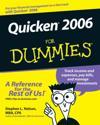 Quicken 2006 for Dummies