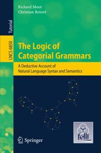 Logic of Categorial Grammars