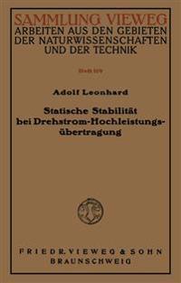 Statische Stabilität Bei Drehstrom-Hochleistungsübertragung
