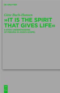 &quote;It is the Spirit that Gives Life&quote;