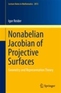 Nonabelian Jacobian of Projective Surfaces