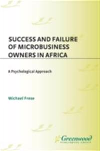 Success and Failure of Microbusiness Owners in Africa: A Psychological Approach