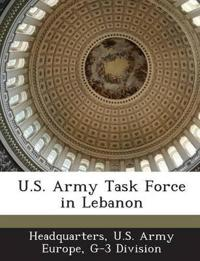U.S. Army Task Force in Lebanon