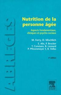 Nutrition de la personne agee