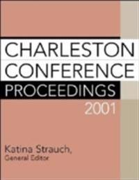 Charleston Conference Proceedings 2001