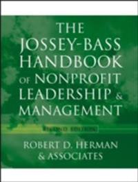 Jossey-Bass Handbook of Nonprofit Leadership and Management