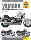 Haynes Yamaha Xvs650 & 1100 Drag Star, V-star '97 to '11 Repair Manual