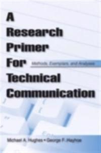 Research Primer for Technical Communication
