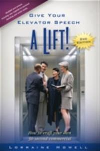 Give Your Elevator Speech a Lift!!