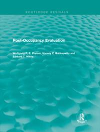 Post-Occupancy Evaluation (Routledge Revivals)