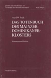 Das Totenbuch des Mainzer Dominikanerklosters