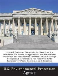 National Emissions Standards for Hazardous Air Pollutants for Source Categories