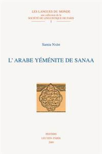 L'Arabe Yemenite de Sanaa